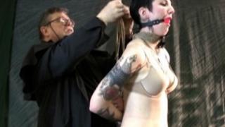 Gagged slave Ava
