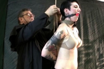 Gagged slave Ava BDSM Tryouts XXX Porn Tube Video Image