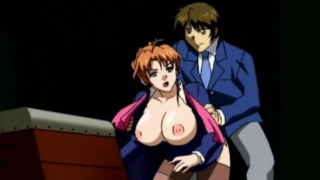 Giant Meloned Hentai Minx Getting Pussy Toyed And Anally Fucked