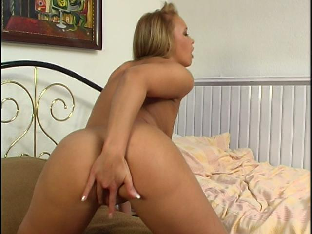 Good looking Czech cutie fingering her bald pussy in doggy position Czech Sex Club XXX Porn Tube Video Image