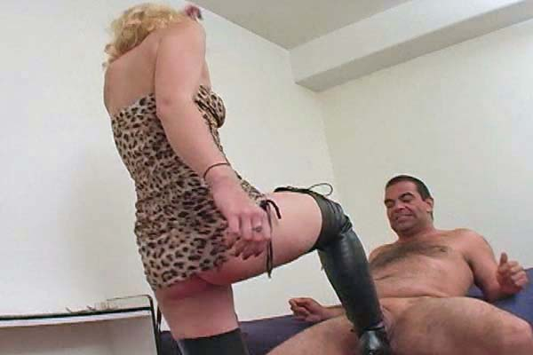 Gorgeous Blond Ballbusting