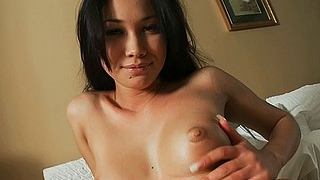 Gorgeous Brunette Masturbating