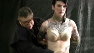 Goth slave Ava