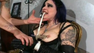 Goth Slut And Mistress