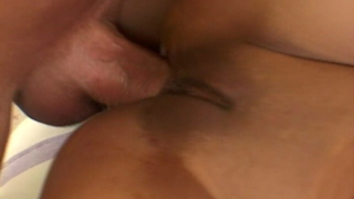 Graceful Latina Minx Annie Cruz Getting Shaved Pussy Pounded While She Gives Felatio