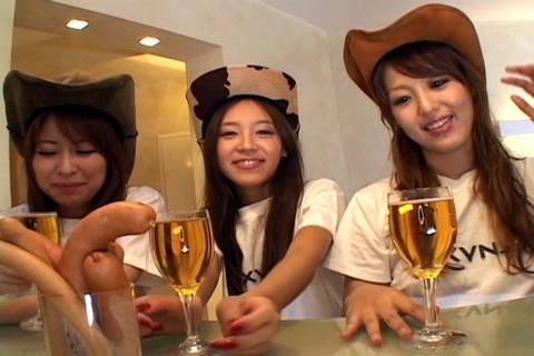 Group sex with Miyu Sugiura, Nagisa, Nami AvidolZ XXX Porn Tube Video Image
