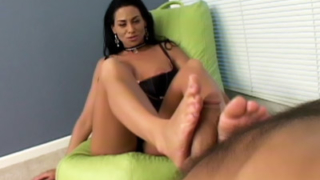 Harley Rubs a Cock With Her Feet