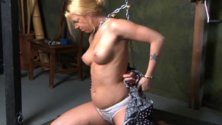 Holly Loves Breast Bondage