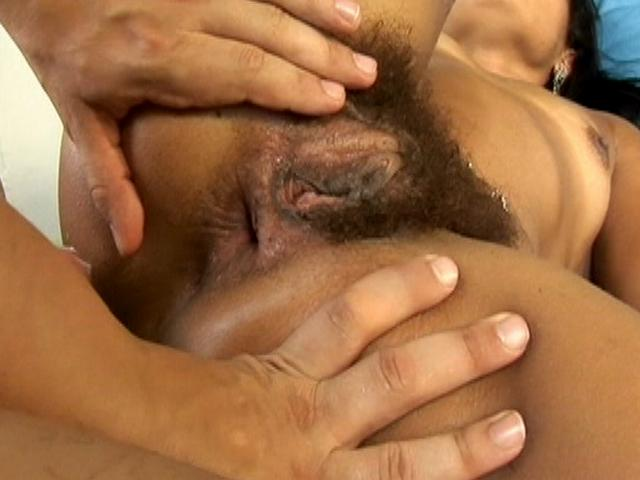 Horny bitch with very hairy pussy Thais getting anally fucked from behind Only Bush XXX Porn Tube Video Image