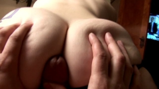 Horny exgirlfriend slut Sailor gives lap dance and teases a thick cock with her round booty
