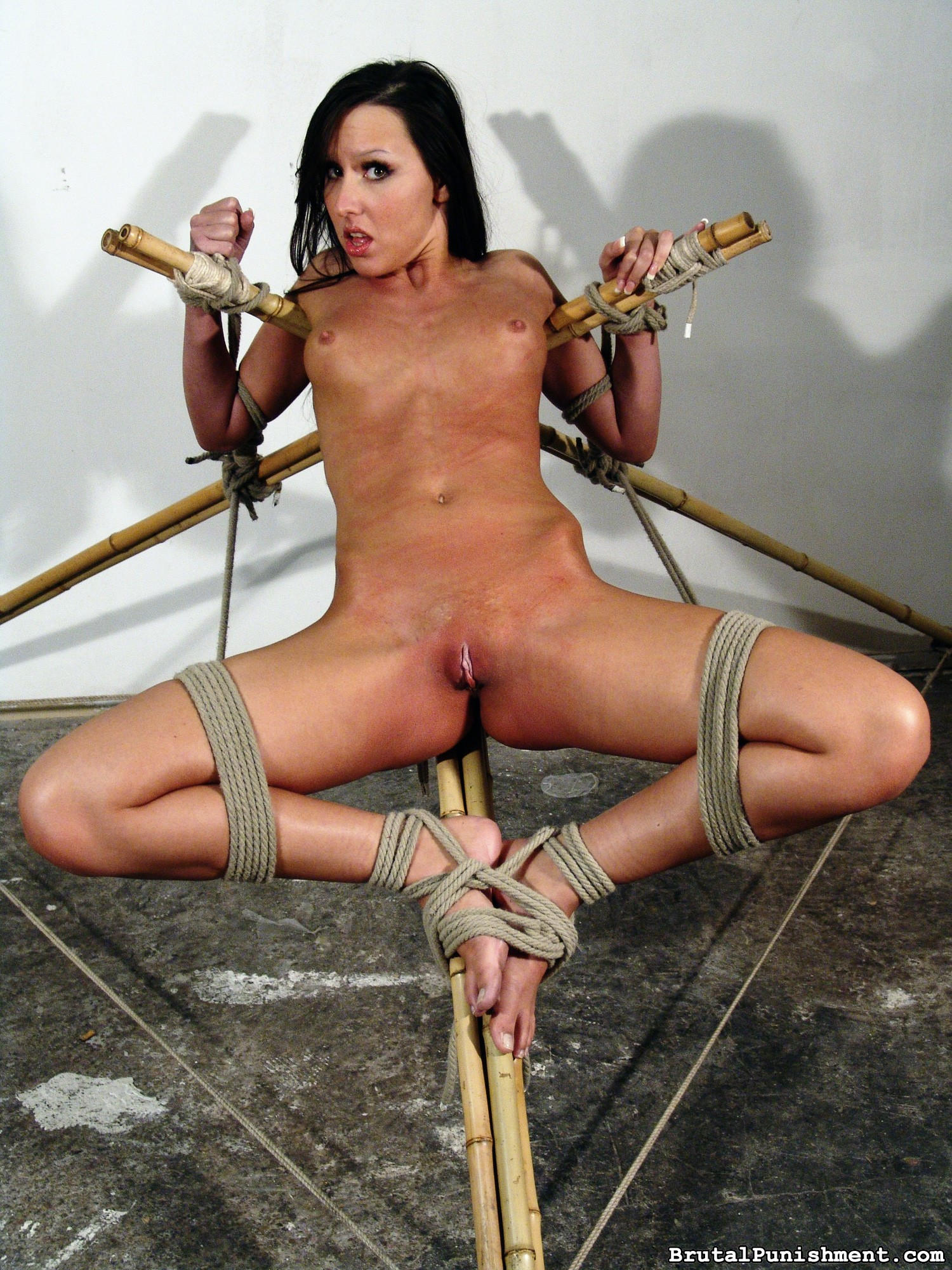 Horny Pain Slut Nicole Endures Another Bondage Session