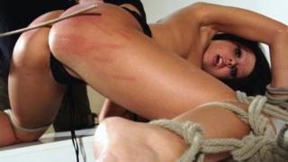 Horny Pain Slut Nicole Endures Another Bondage Session