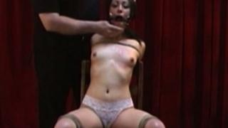 Horny Rebecca Roped