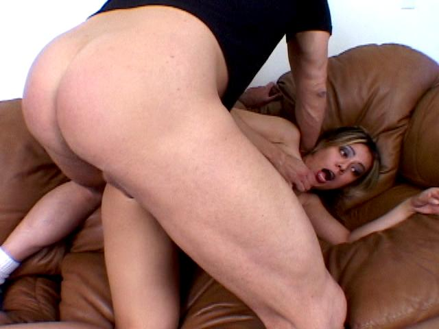 Hot army hooker Catalina gets ass fucked hard in doggy position