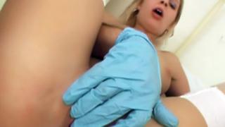 Hot Nurse Pleasures Herself