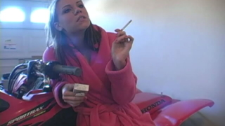 Hot Teen Slut Addison Smoking On The Camera For You
