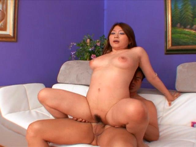Hot Titted Japanese Bitch Mirai Haneda Humping A Big Shaft On The Floor Erotic Japan XXX Porn Tube Video Image