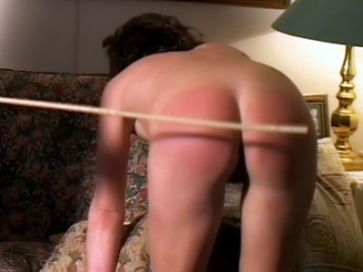 Husband Caning Her Naughty Wife