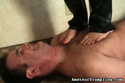 Interview With A Trampler 1 Amateur Trampling XXX Porn Tube Video Image