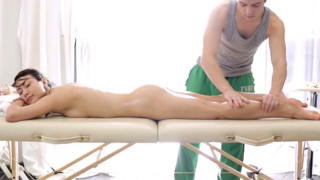 Ira Is Ready To Fuck When Her Masseuse Slides His Fingers In.