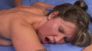 Irresistible cutie Kelly getting pink beaver drilled by a huge black penis