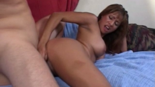Irresistible milf with large hooters Estrella Spangled getting pink twat fucked by a large shaft