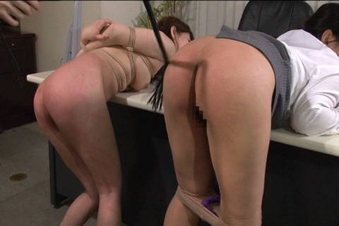 Japanese woman bent over and ass is whipped Asians Bondage XXX Porn Tube Video Image