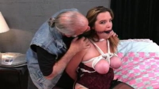Jennifer In BDSM Roping