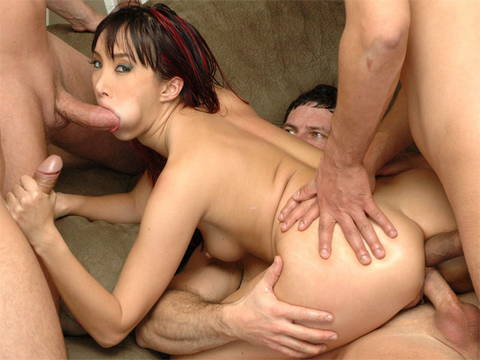 Katsuni sucks and fucks in double penetration Brutal Asia XXX Porn Tube Video Image