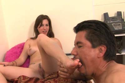 Lacey Lawless Ball Busts Her Houseboy