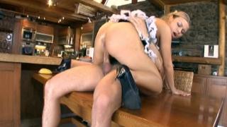 Latina Maid Rides Cock