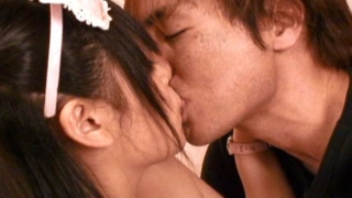 Lovely japanese hooker March Momooiro getting shaved muff toyed hard