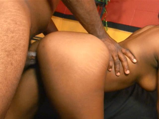 Mahlia Milian gets her tight ebony kitten fucked doggy-style
