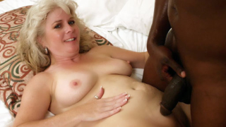 MILF Stacey Does Interracial