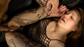 Nasty Teen In Fishnet Drilled