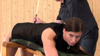 Naught Ines Earns a Caning