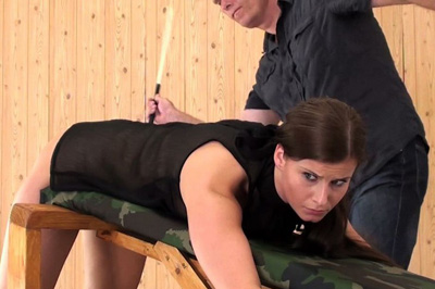 Naught Ines Earns A Caning Elite Spanking XXX Porn Tube Video Image