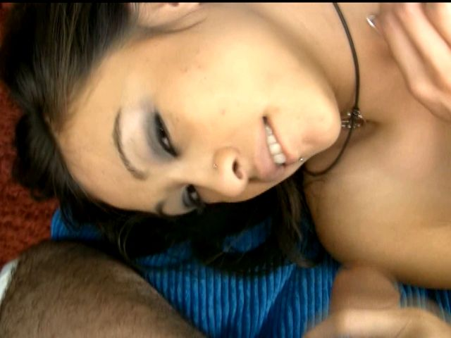 Naughty amateur cutie Ariel Rose stripping top and getting small tits massaged