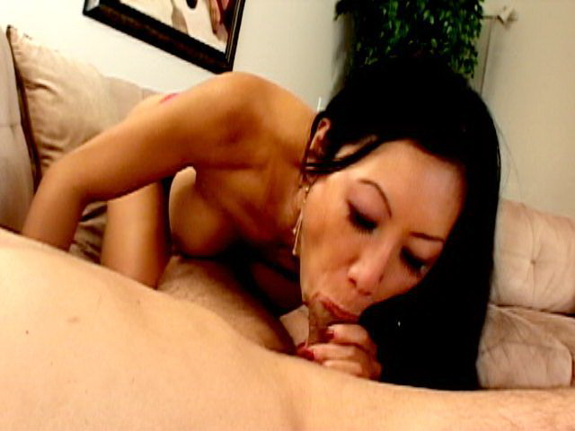 Naughty Asian cigarette fetishist Tia Ling sucking and jerking a huge cock Smokers Erotica XXX Porn Tube Video Image