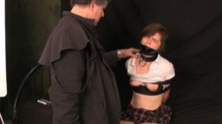 Naughty Maya spanked