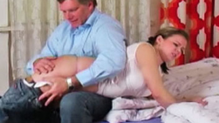 Naughty Xenias Spanking Session