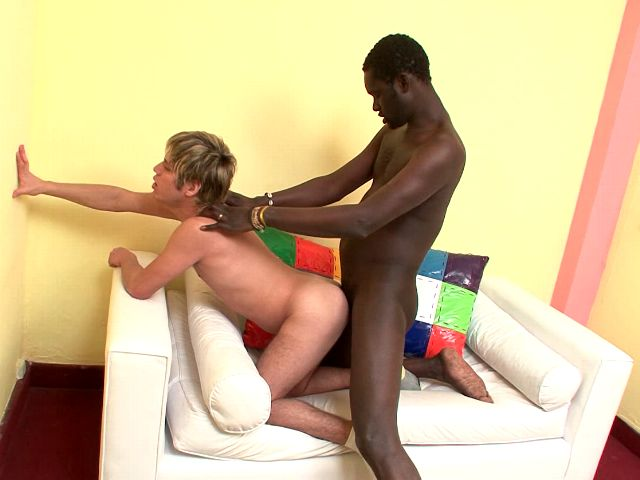 Orgiastic blonde amateur gay Cristian getting arse nailed doggie by black Cristian Gay Amateurs Club XXX Porn Tube Video Image