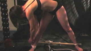 Pearl in bondage video