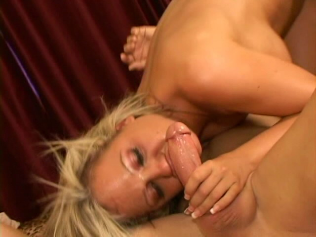 Perverse blonde pornstar Sophia sucking an enormous cock with lust Gogo Pornstars XXX Porn Tube Video Image