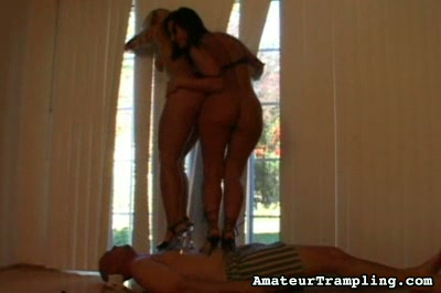 Queens of Trample 2 Amateur Trampling XXX Porn Tube Video Image