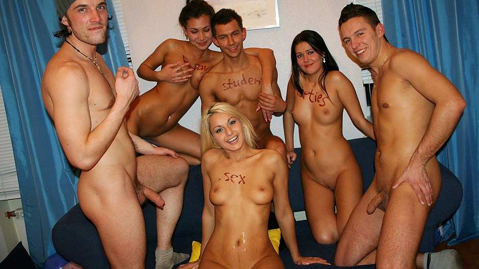 Raunchy group action at cool college partie College Fuck Parties XXX Porn Tube Video Image