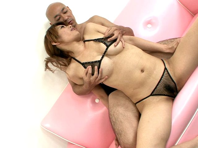 Ravisher busty japanese siren Moe Aizawa gets hairy pussy fingered by a horny dude Erotic Japan XXX Porn Tube Video Image