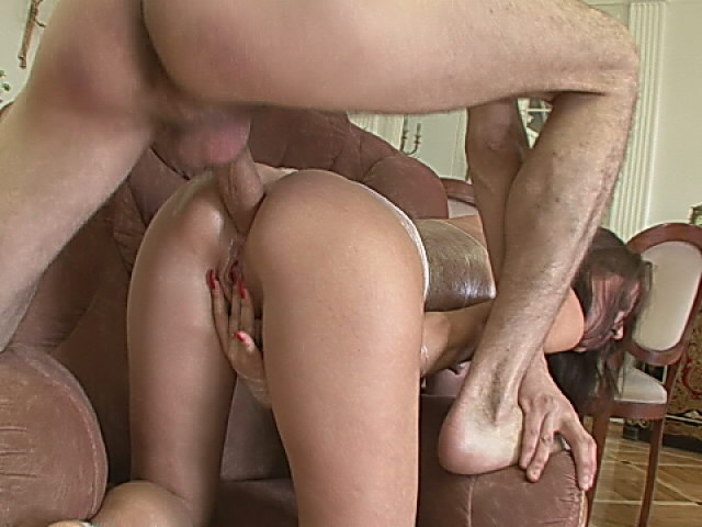 Ravishing bitch getting curvy butt fucked by a big shaft on the couch Backdoor Pumpers XXX Porn Tube Video Image