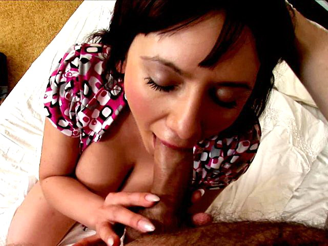Ravishing Brunette Teenage Seductress Kitty Sucking A Massive Penis And Getting Fucked Totally Teen XXX Porn Tube Video Image