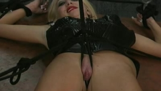 Restrained slave sucking
